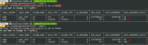 MySQL – Keep an eye on your auto_increment values