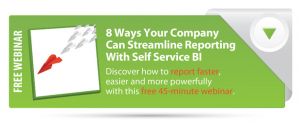 Ensuring Analytics Success with Self Service Business Intelligence