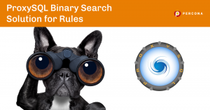 ProxySQL Binary Search Solution for Rules