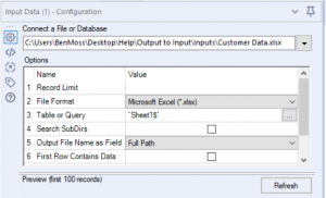 Writing your output, to your input, in Alteryx