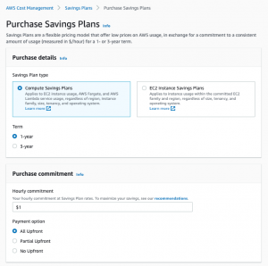 Introducing queued purchases for Savings Plans