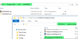The SAS Hot Fix Analysis, Download and Deployment (SASHFADD) Tool