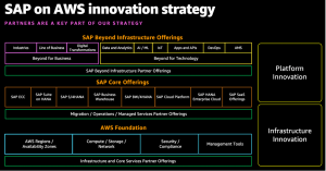 AWS partners accelerate customer innovation with SAP Beyond Infrastructure offerings