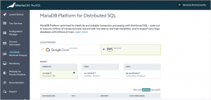 MariaDB SkySQL on AWS, now in tech preview