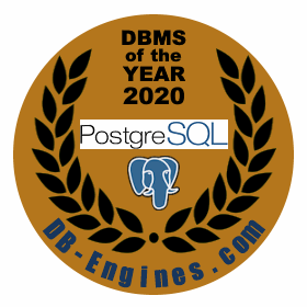 PostgreSQL is the DBMS of the Year 2020