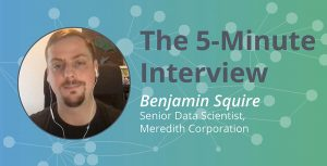 Dimensions in the Data: 5-Minute Interview with Benjamin Squire