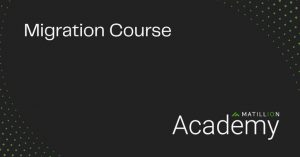 Data in Motion: New Migration Course on Matillion Academy