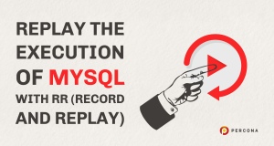 Replay the Execution of MySQL With RR (Record and Replay)