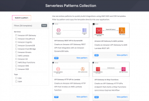 Learn how to integrate AWS services with the Serverless Patterns Collection