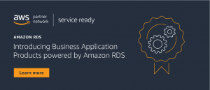 Amazon RDS Ready Program Expands to Include Partner Business Application Product Category
