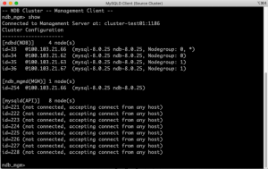 Security Configuration For MySQL NDB Cluster Replication