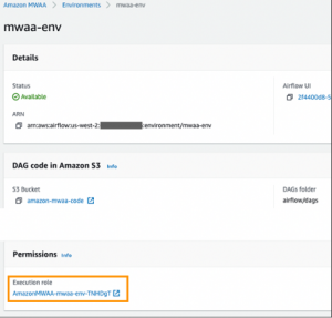 Bolster security with role-based access control in Amazon MWAA
