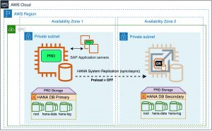 SAP HANA sizing considerations for secondary instance with reduced memory footprint