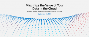 5 reasons to attend the Azure data governance digital event