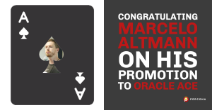 Congratulating Marcelo Altmann on his Promotion to Oracle ACE!